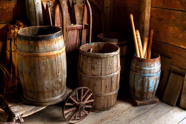 Backroom Barrels