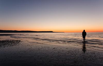 Sunrise Selfie. St.Martins NB
