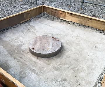 New Campus Construction Ground Preparation-