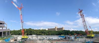 New Campus Construction Ground Preparation--2
