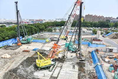 New Campus Construction Ground Preparation-7-3