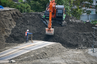New Campus Construction Ground Preparation-7-4
