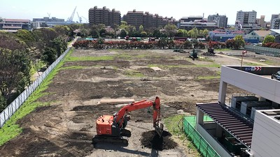 April, 2020 - Ground preparation