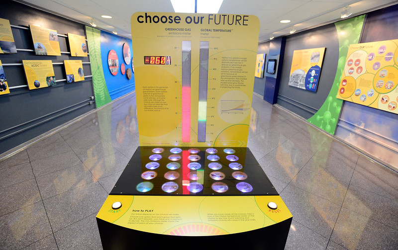 NCAR Climate Change Exhibit