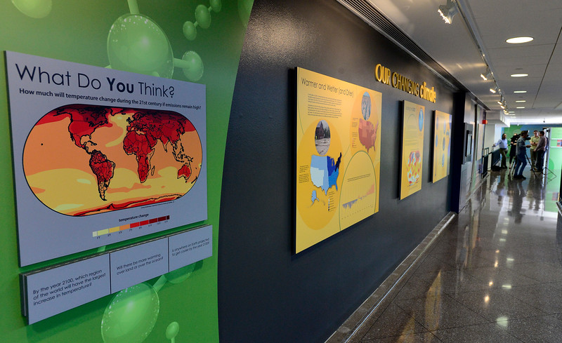 NCAR Climate Change Exhibit