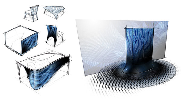 Azure Depths   Furniture Concepts