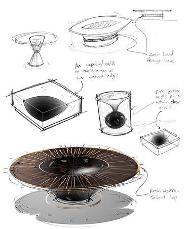 Floating Feathers | Furniture Concepts