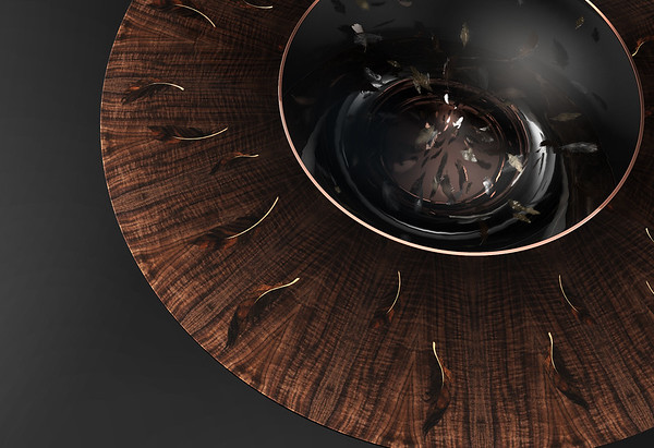 Floating Feathers | Coffee Table