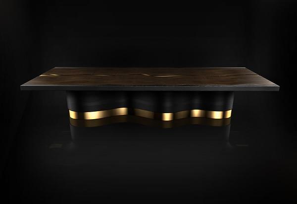 Fluid Contours   Dining Table