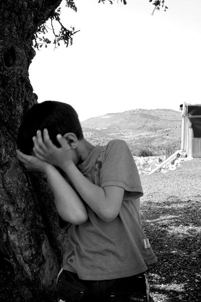 Boy in Beduin Slums