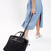 "Mayfair; Sedley; Wheeled Travel Tote;15"";119803BLK;On the model"