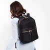 "Mayfair;Beauchamp;Backpack;14"";119-401-BLK;On the model"