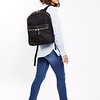 "Mayfair;Beauchamp;Backpack;14"";119401BLK;On the model"