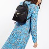 "Mayfair; Mini Beauchamp; Backpack; 10""; 119-402 BLK; On the model"