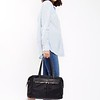 "Mayfair;Curzon;Shoulder bag;15"";119201BLK;On the model"
