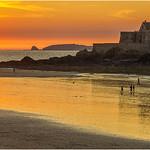 Sunset  -  Saint Malo  -  Brittany