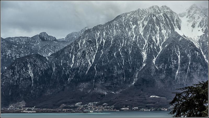 Port Valais  ,Alps