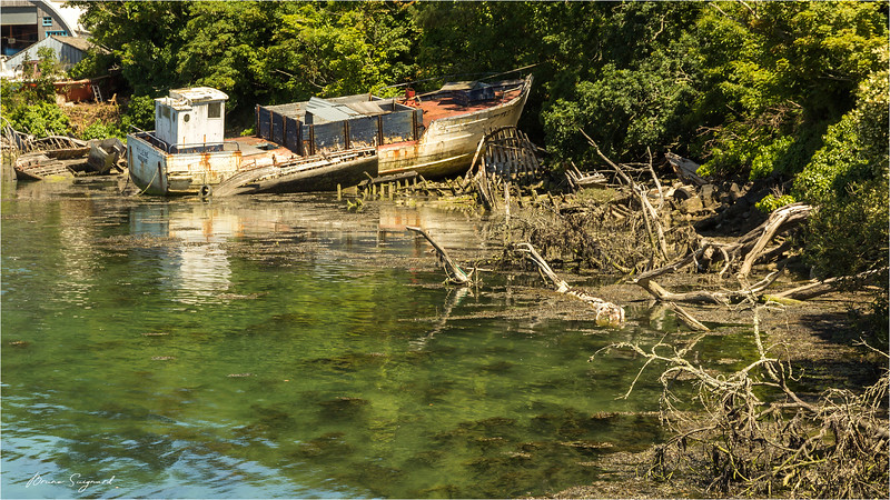 Wreck  -  Audierne  -  Brittany
