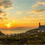 Sunset  -  Chapelle Saint-They  -  Pointe du Van