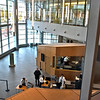 View of the front lobby of the new Judicial Center. SUN/ David H. Brow