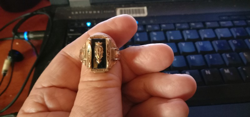 My fathers ring from 1945
