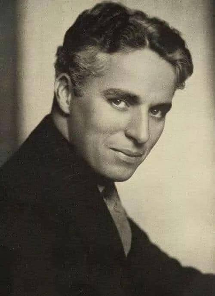 Charles Chaplin, world famous actor, composer, director, producer,