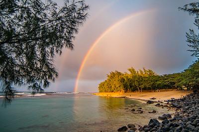 Double scoop of rainbow