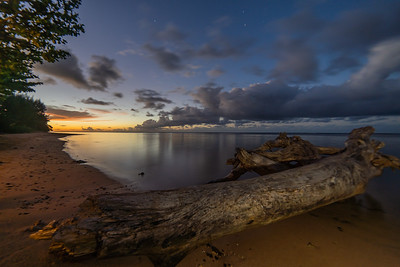 Logoon sunset