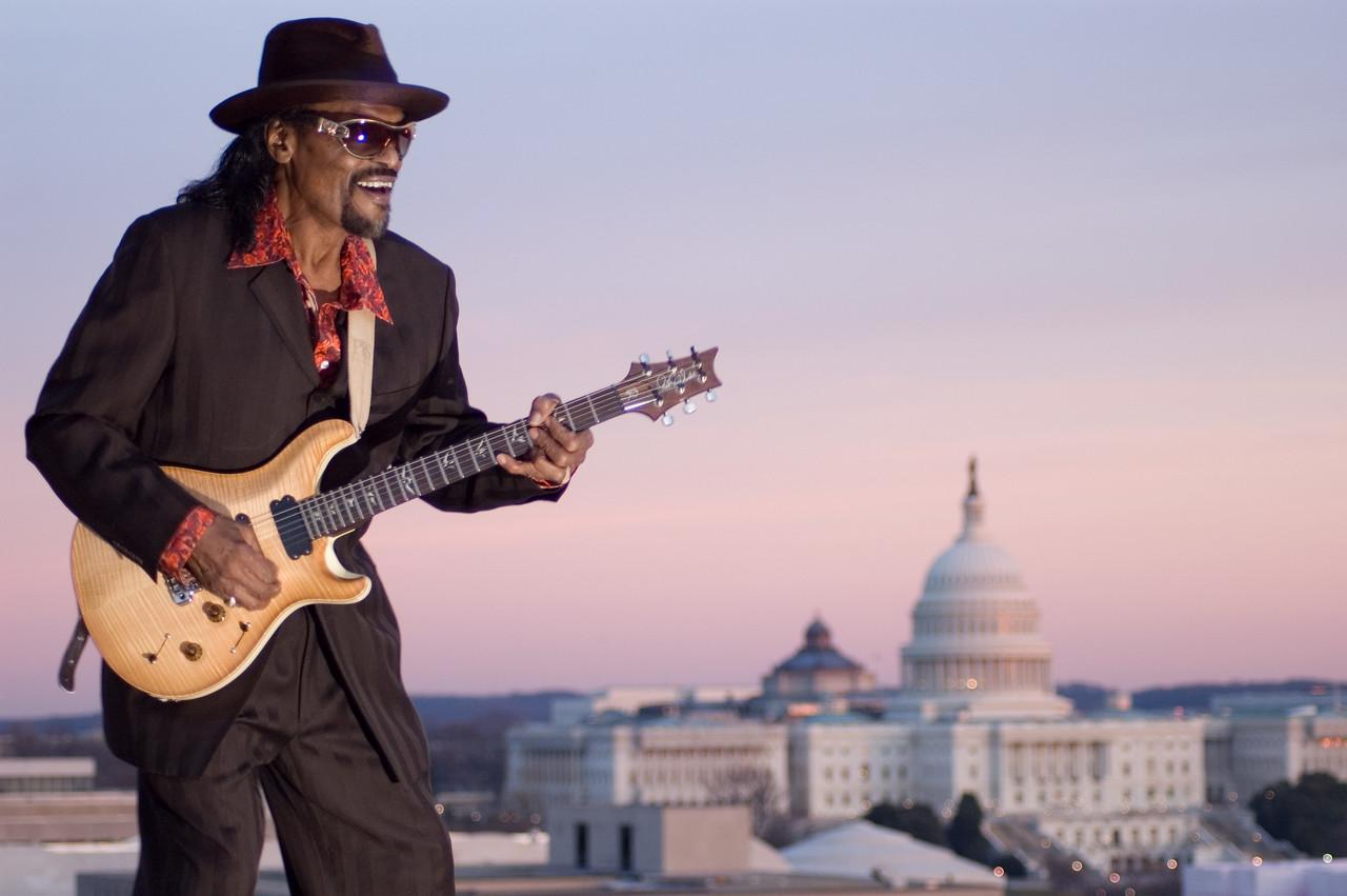 Chuck Brown by James Hilsdon Hilsdon Photography LLC Washington DC
