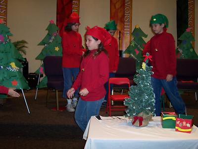 Kids' Christmas Program 2006 New Destiny