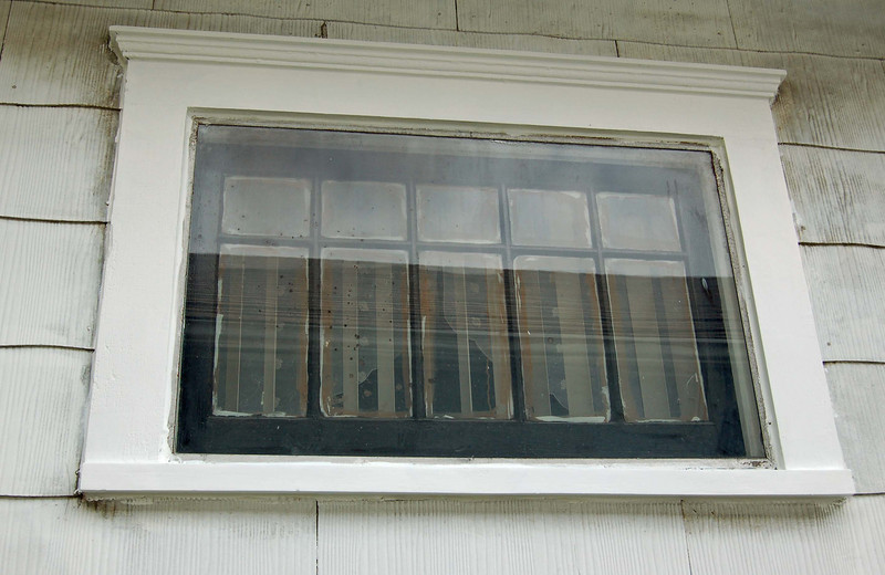 North window after.  Much better.