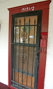 Front door after.