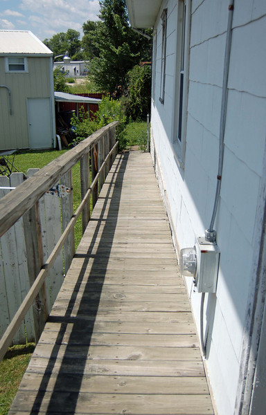 The ramp before.