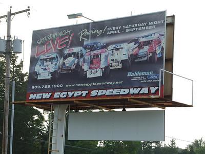New Egypt Speed Way