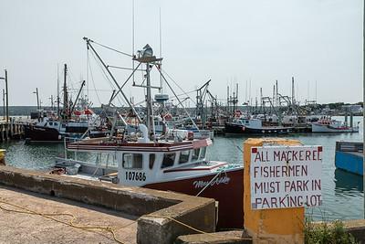 Digby harbor, Nova Scotia, Canada.