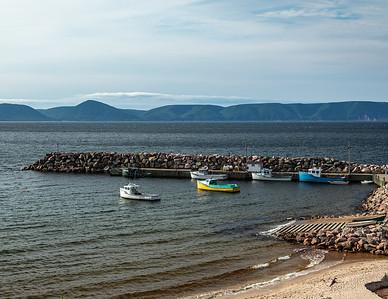 White Point in the highlands of far Northeast Cape Breton Island, Nova Scotia, Canada.