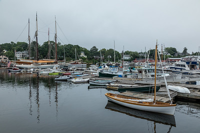 Harbor at Camden, Maine.