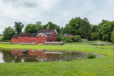 Holly Bush Farm, Rhinebeck, NY.  Location:  corner of NY Highway 9G and Dutchess County Road 101.