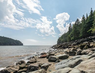 Point Wolfe Beach. Fundy National Park.  New Brunswick, Canada.