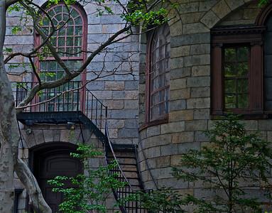 Boston Latin staircase