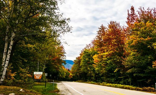 New England 2016 Kancamagus Highway Area White Mountains