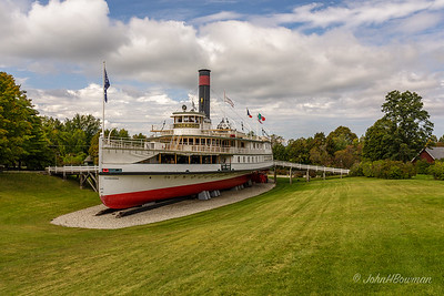 Shelburne Museum - Steamboat Ticonderoga
