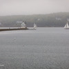 Rockland Breakwater Lighthouse, Fog - Rockland, ME (227mm)