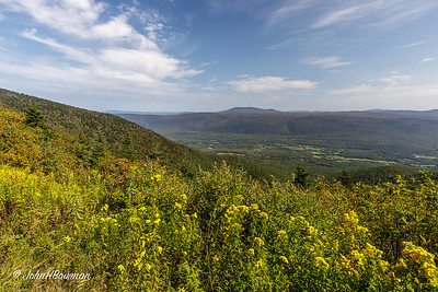View SE from Mt. Equinox - Bennington County, VT
