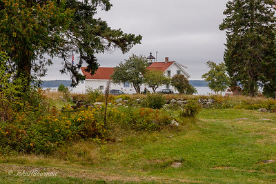 Fort Point Lighthouse - Stockton Springs, ME