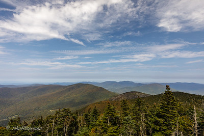 View NW from Mt. Equinox - Bennington County, VT
