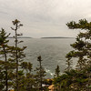 View South from Bass Harbor Head Light - Acadia NP
