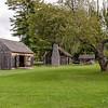 Shelburne Museum - Settlers' Barn & House