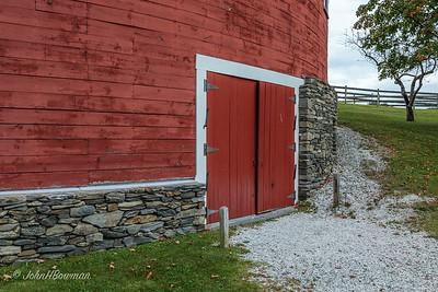 Shelburne Museum - Round Barn, Lower-level Detail