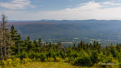 View SE from Mt. Equinox - Bennington County, VT